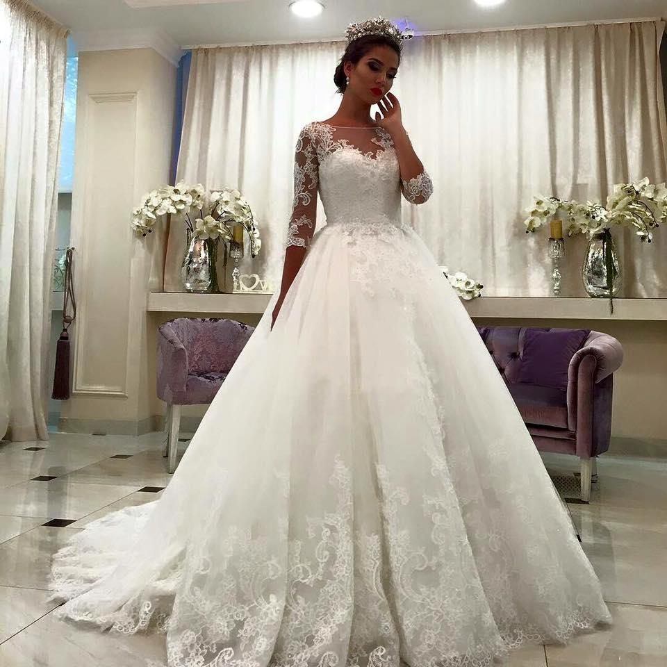 f76fe63fa34 Wedding Dresses With Sleeves Online